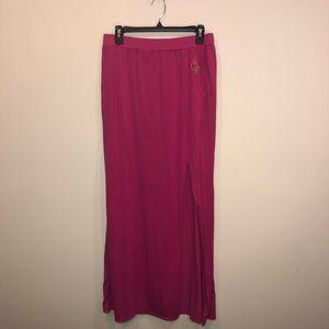 Baby Phat Slit Maxi Skirt